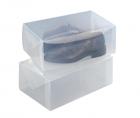 Set 2 škatel za čevlje Ayden