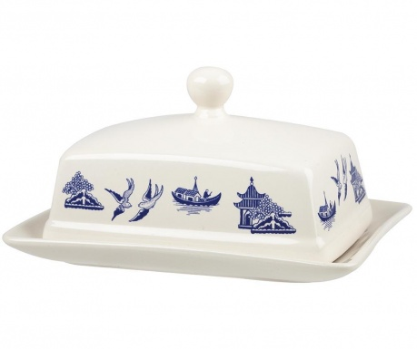 Butter dish with cover Tuscany