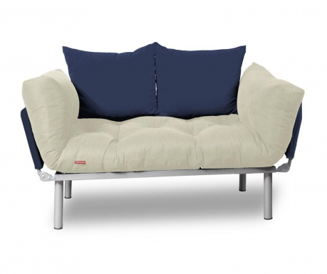 Sofa extensibila Relax Cream Navy