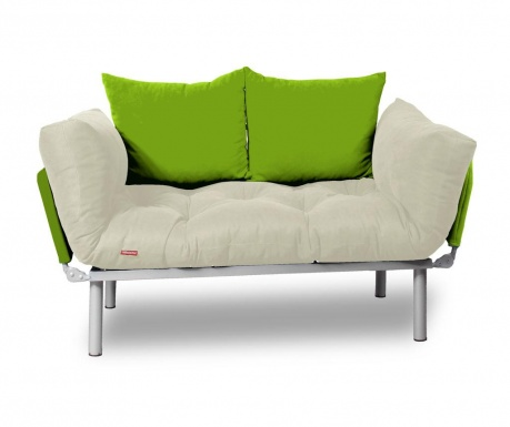 Sofa extensibila Relax Cream Green