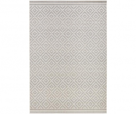 Venkovní koberec Meadow Raute Grey Cream