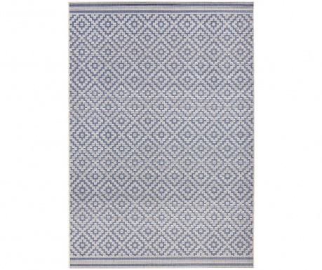 Covor de exterior Meadow Raute Blue Cream 80x150 cm