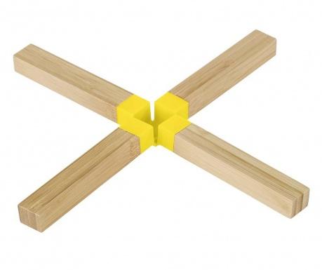 Подложка за горещи съдове Onda Yellow