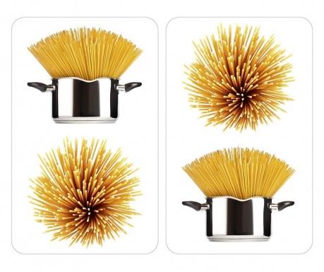 Spaghetti 2 darab Tűzhelyvédő lap