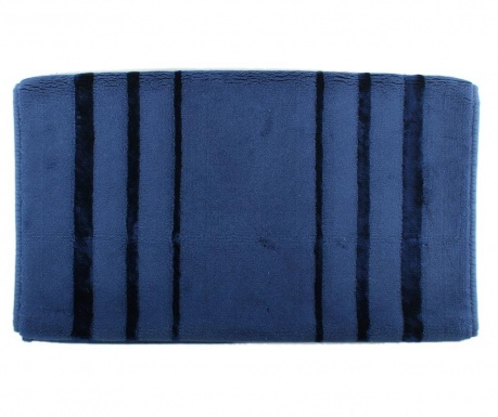 Prosop de picioare Charleston Dark Blue 60x100 cm