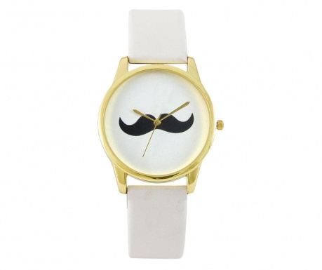 Zegarek  damski Luca Casiraghi Moustache White