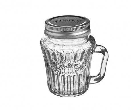 Чаша с капак Kilner Star 110 мл