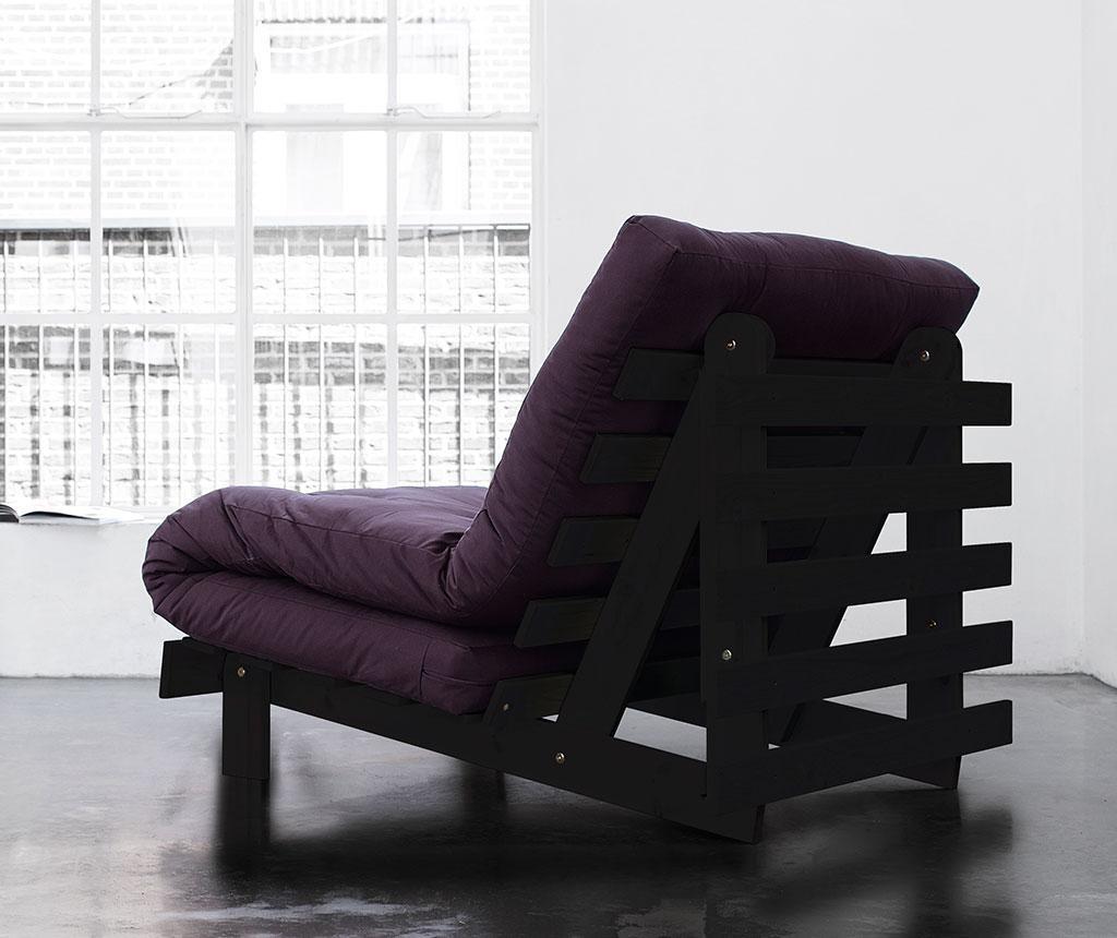 Sofa extensibila Roots Wenge and Purple