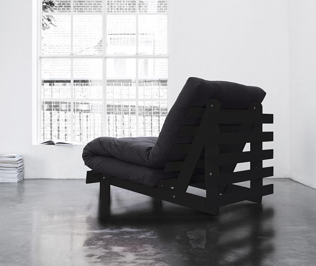 Sofa extensibila Roots Wenge and Dark Grey
