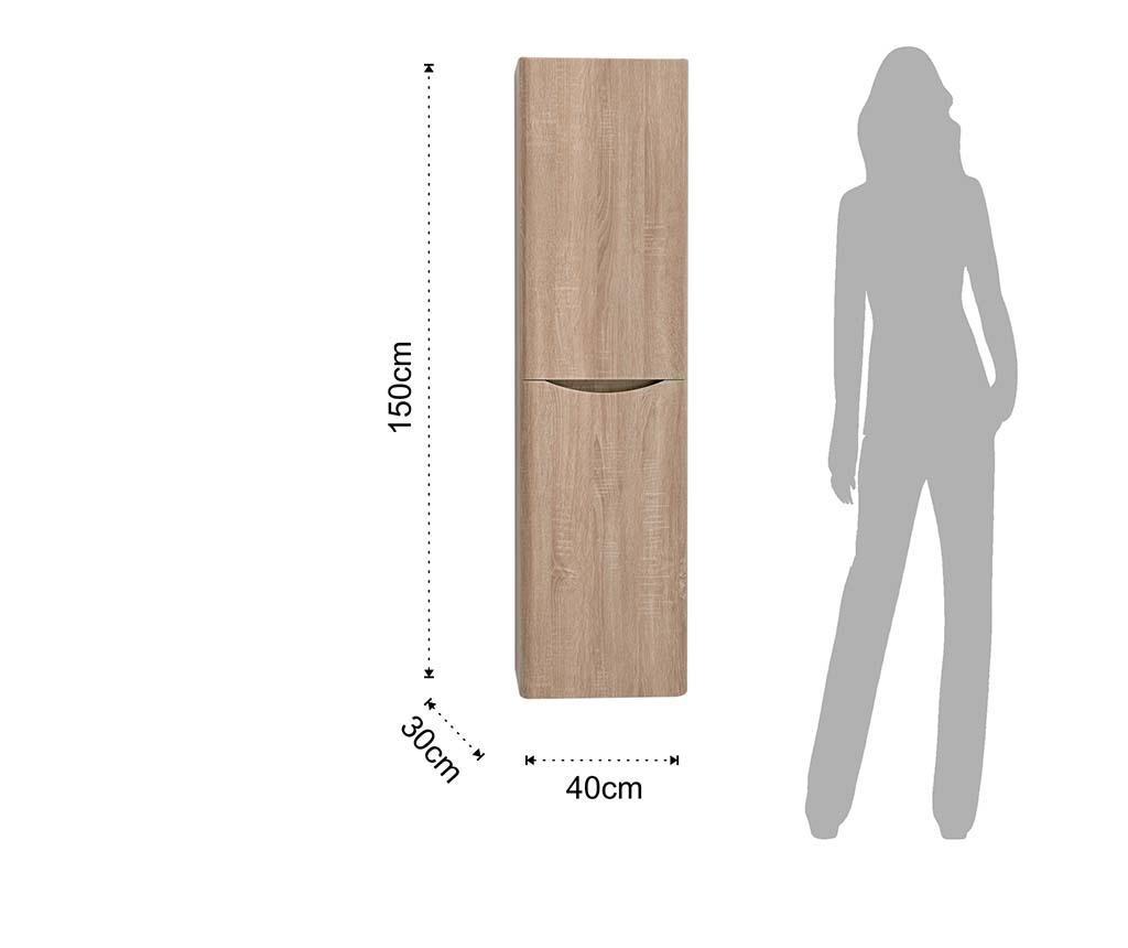 Redit Felfüggeszthető fürdőszobai szekrény