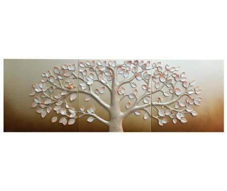 Zestaw 3 Dekoracje ścienne 3d Big Tree Vivrehomepl