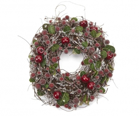 Dekoracija Frosted Berry Wreath