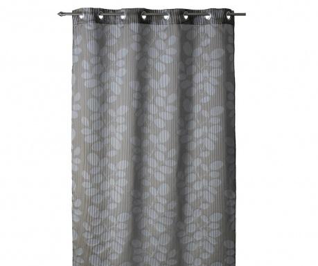 Perdea Leavelines Taupe 140x260 cm