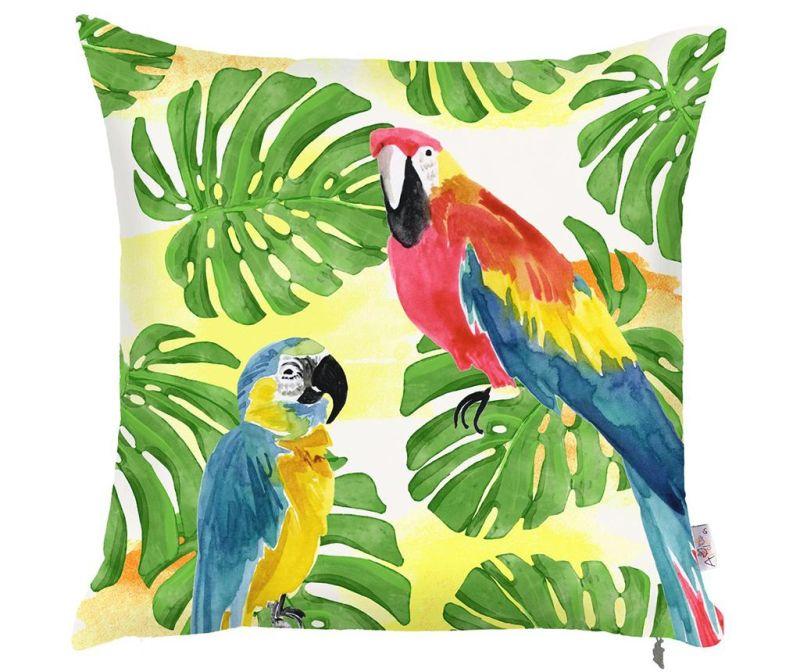 Fata de perna Parrots 43x43 cm