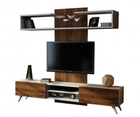 Zostava nábytku do obývačky Dem Walnut