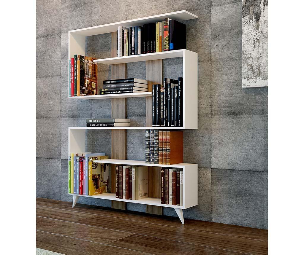 Knihovna Rain Walnut