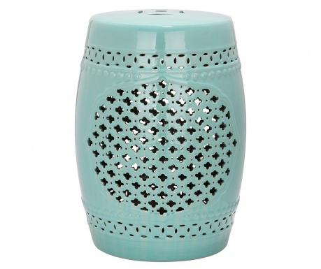 Dekorativna pručka Marbella Turquoise