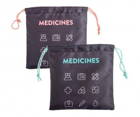 Set 2 saci pentru medicamente Travel