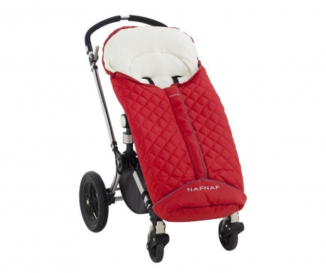 Zimowy pokrowiec na wózek Diamon Red