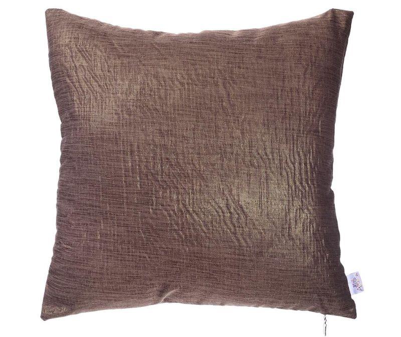 Povlak na polštář Evie Brown 43x43 cm