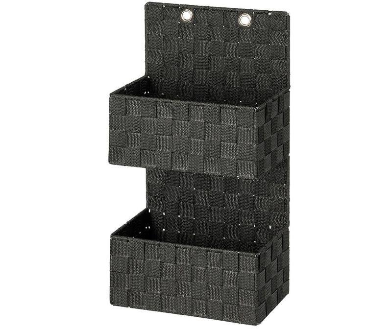 Suport accesorii de baie Adria Black Two