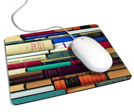 Mouse pad Leseratte