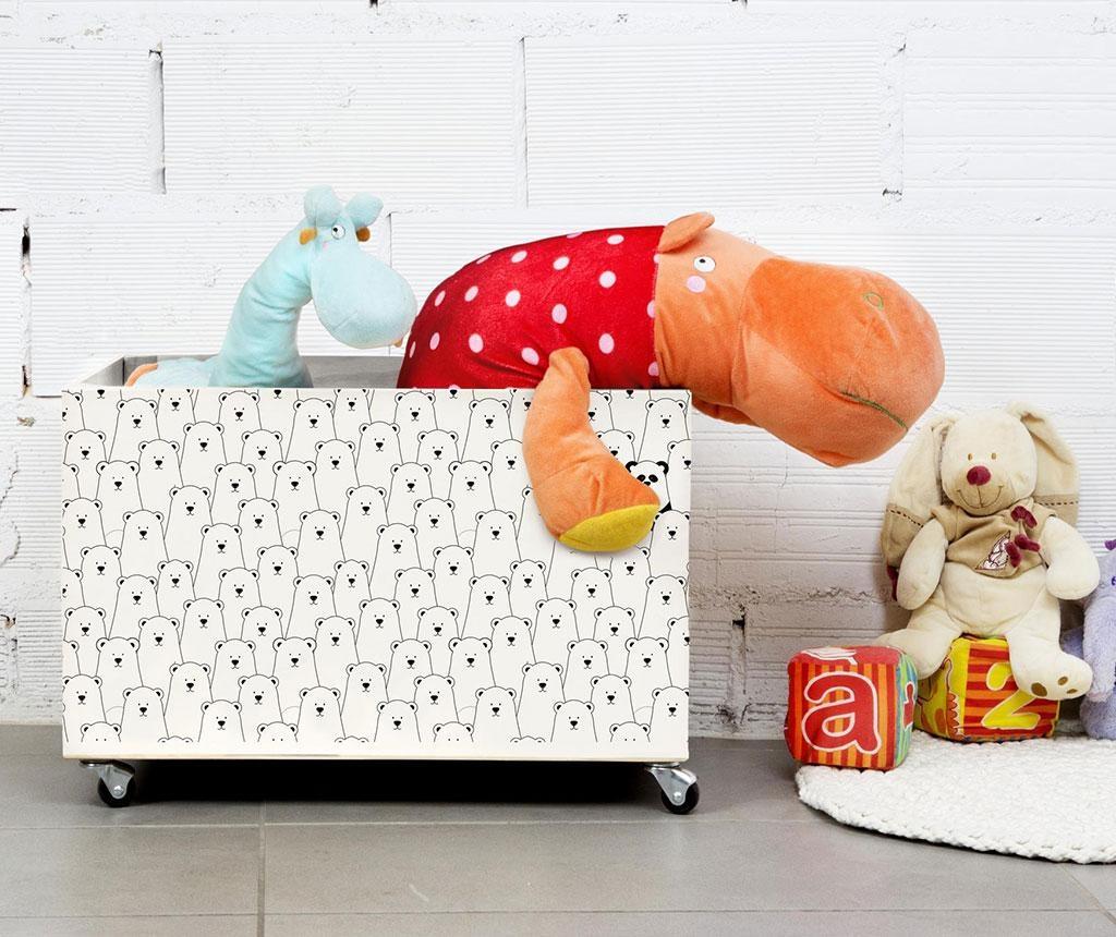 Škatla za igrače Panda Lost in Icebear World