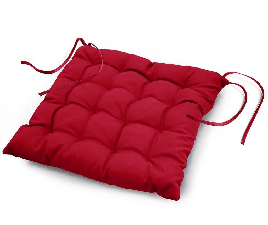 Perna de sezut Essentiel Red 40x40 cm