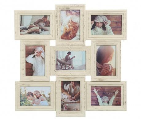 Рамка за 9 снимки Yves Worn White
