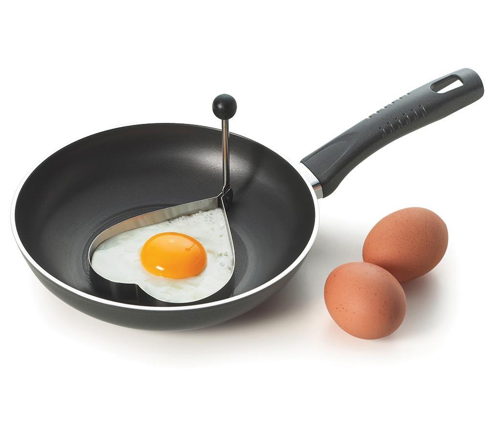 Model za cvrto jajce Heart