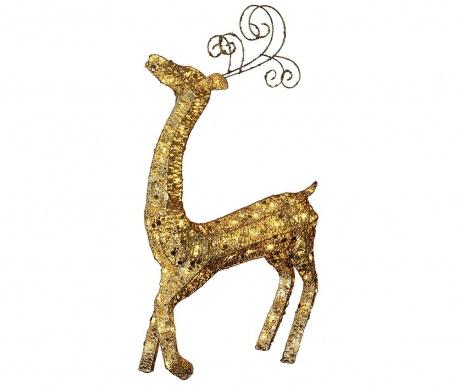 Zunanja svetlobna dekoracija Big Reindeer Gold