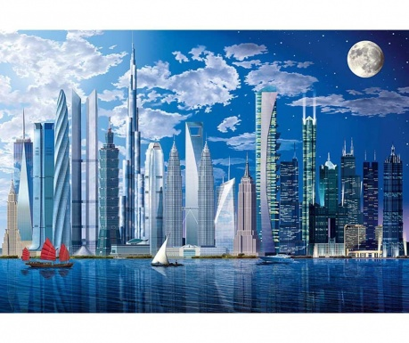 Тапет World's Buildings 254x366 см