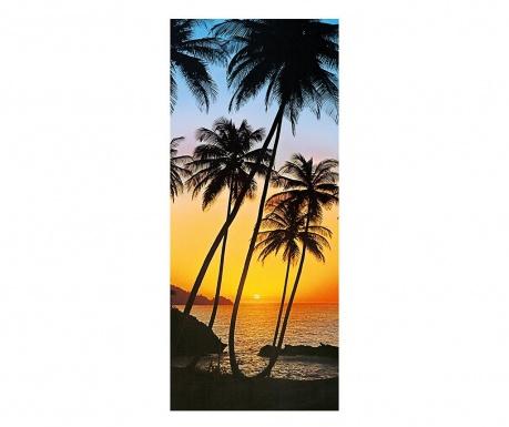 Tapet pentru usa Sunny Palms 86x200 cm