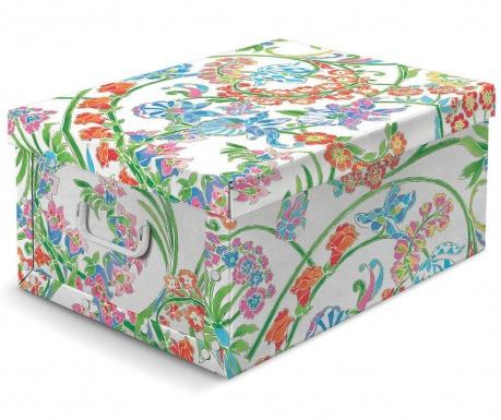 Škatla za shranjevanje s pokrovom Floral Vintage M