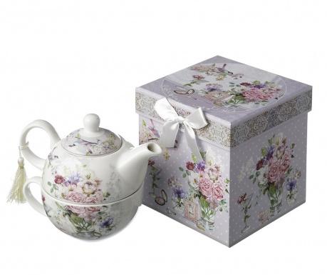 Gardenia Teáskanna és csésze