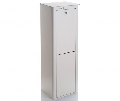 Kanta za smeće za odvojeno prikupljanje Cubek White 40 L