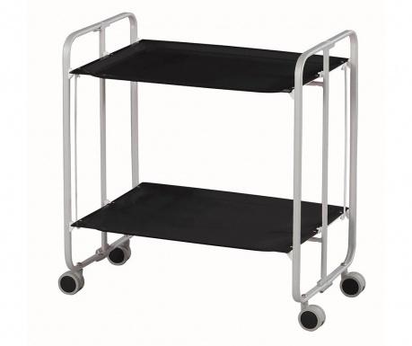 Sklopiva kolica za posluživanje Star Mini Silver Black