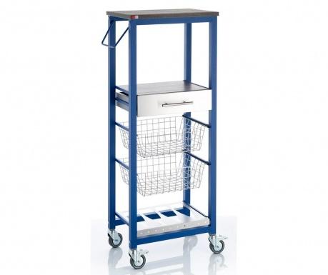 Kuchyňský vozík Onda High Blue