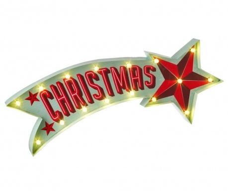 Świetlna dekoracja ścienna Christmas Star