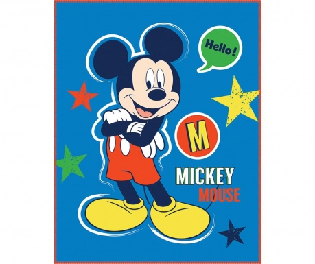 Mickey Expression Pléd 110x140 cm