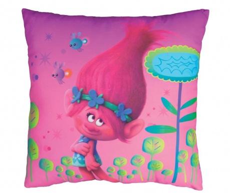 Trolls Poppy Díszpárna 40x40 cm