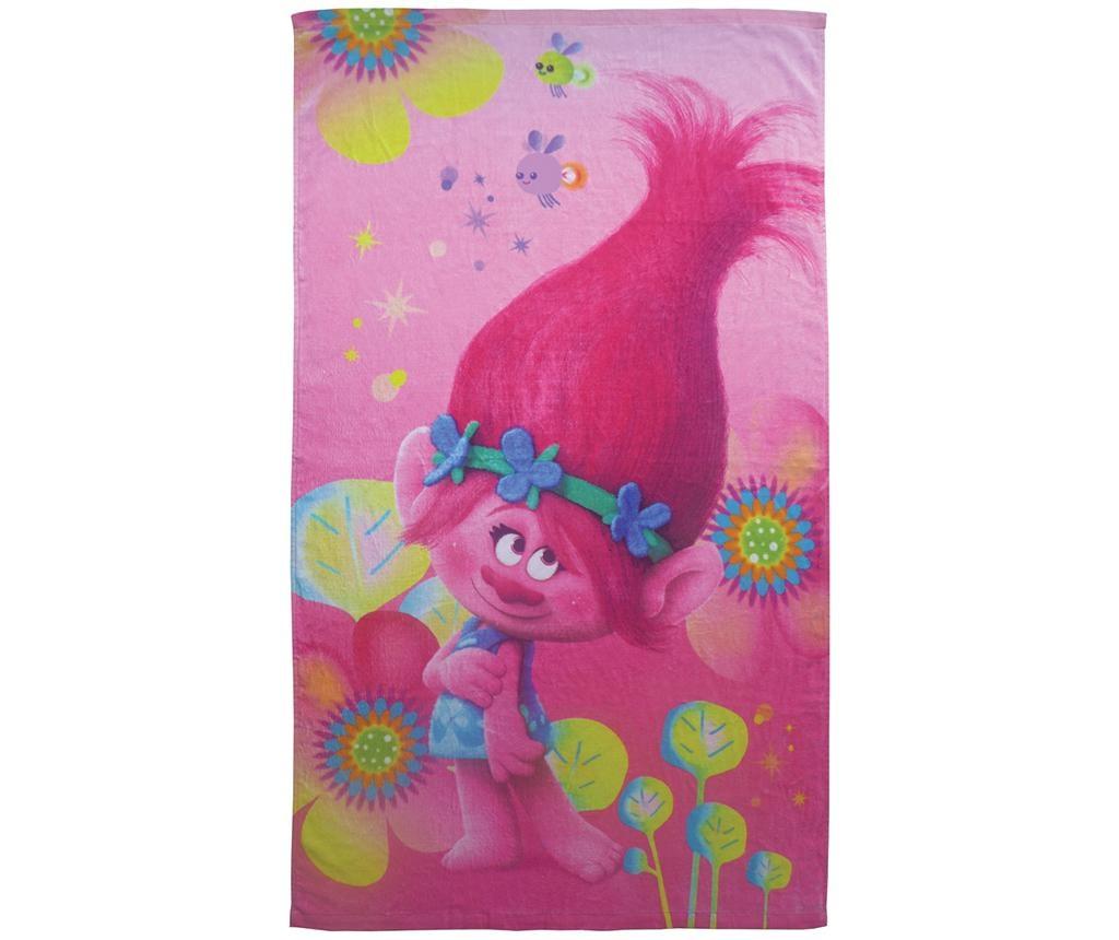 Kopalna brisača Trolls Poppy 70x120 cm
