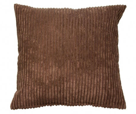 Perna decorativa Corduroy Brown 45x45 cm