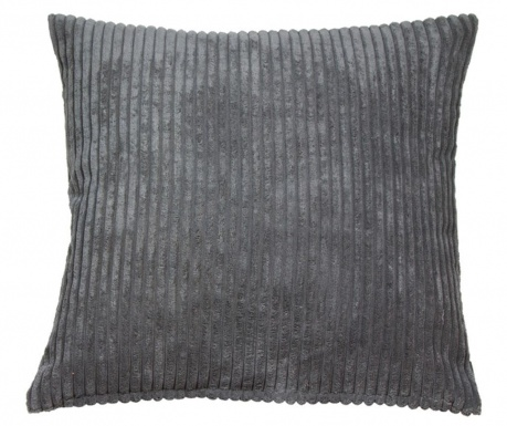 Perna decorativa Corduroy Grey 45x45 cm