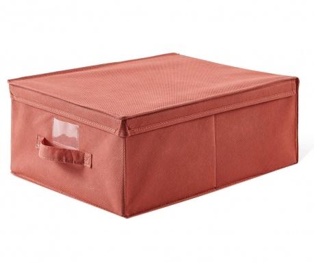 Shranjevalna škatla s pokrovom Simina Red
