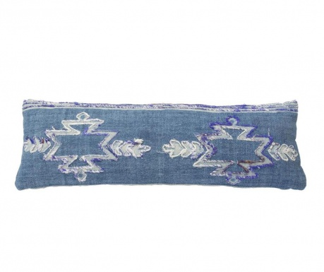 Okrasna blazina Giunchiglia Long Blue 30x90 cm