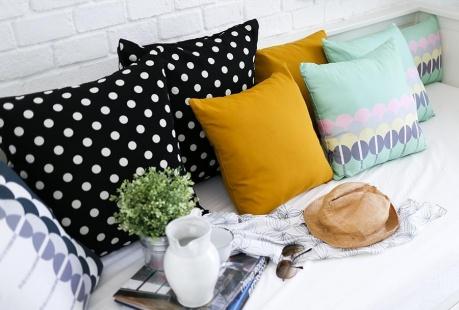 Outlet z poduszkami