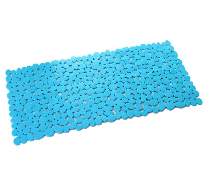 Covoras de baie Pebble Blue 35x70 cm