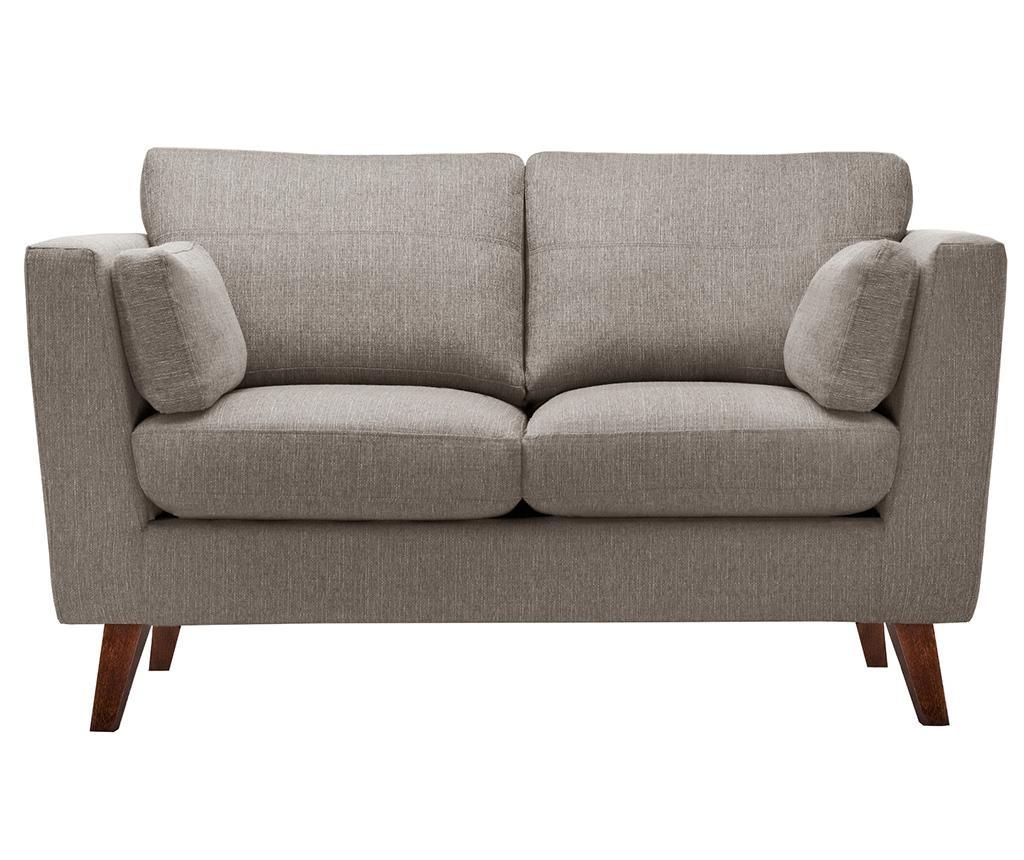 Sofa dvosjed Elisa Hazelnut