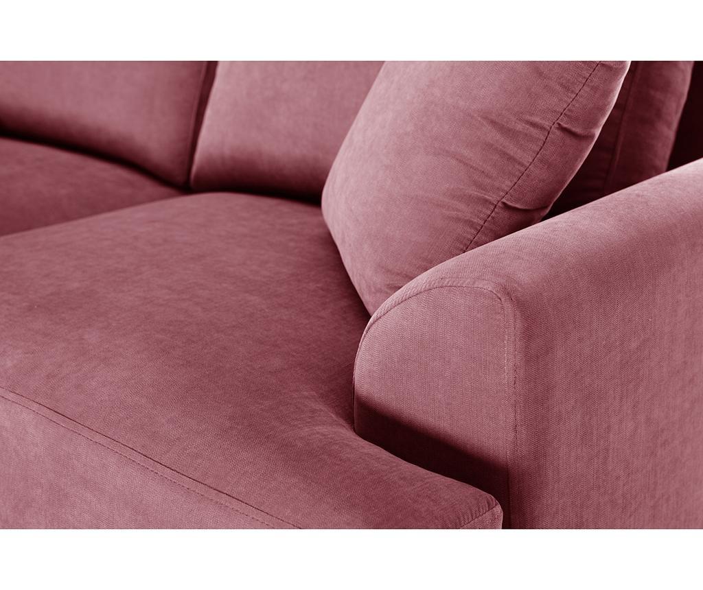 Kauč dvosjed Irina Peach Rose